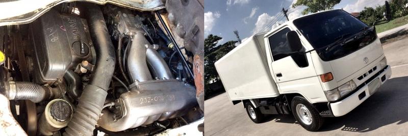 (タイ)2JZ-GEエンジン移植!マニュアルシフト仕様!デンソー冷凍モデル6代目トヨタ・ダイナ&アニヴェルサリオのコールサウンド動画