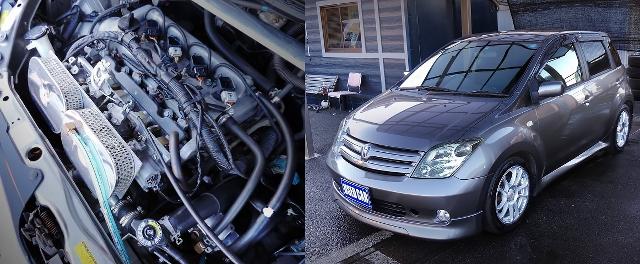 1NZエンジン改4連スロットル!5速マニュアル公認!初代NCP60型トヨタist&東京モーターショー2015トヨタS-FR動画