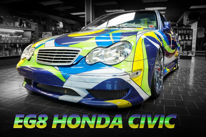 2代目ベンツCクラス顔面移植!E46型BMW3シリーズ用リアテール移植!EG8型シビックフェリオのアメリカ中古車を掲載!