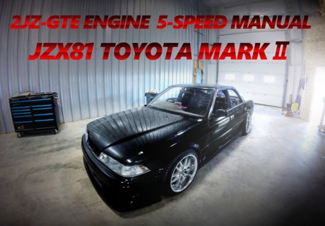 2JZ-GTEエンジン改シングルターボ!!R154型5速MT換装!JZX81マークⅡのカナダ中古車を掲載。