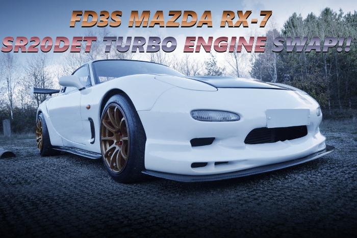 日産用SR20DETターボエンジンスワップ!FD3S型マツダRX-7のイギリス中古車を掲載!