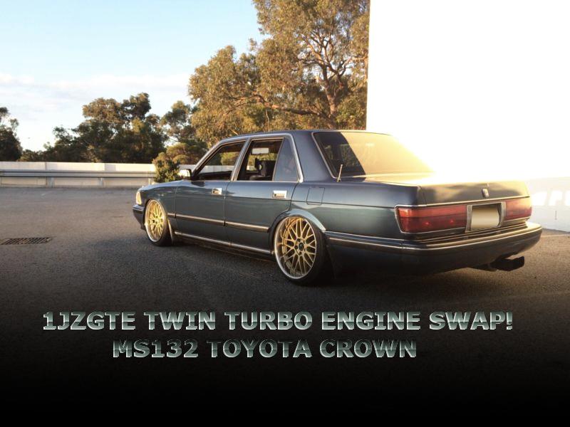 JZZ30型ソアラ用1JZツインターボエンジンATスワップ!MS132型クラウンのオーストラリア中古車を掲載!