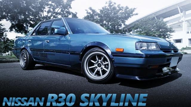 1JZ-GEエンジンATシフト仕上げ!前後オーバーフェンダー!R32ブレーキ!鉄仮面R30スカイライン4ドアのタイ中古車を掲載。