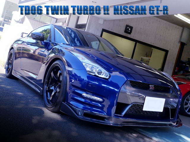 HKSテクニカルファクトリー製作!HKS製VR38エンジン搭載TD06ツインターボ!R35日産GT-RピュアEDの中古車を掲載!
