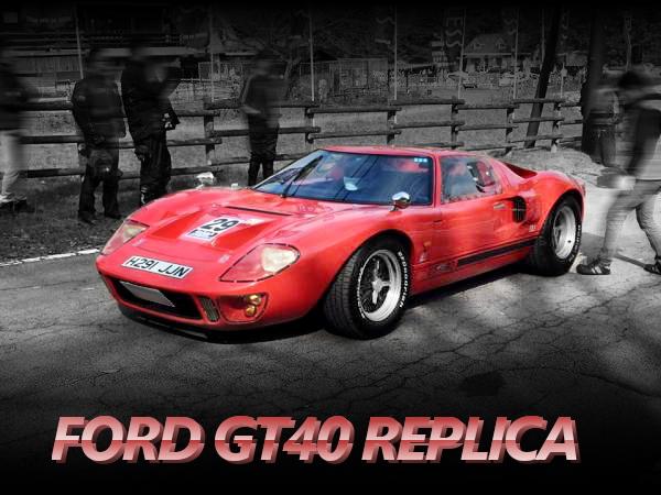 ENDLESSメンテナンス!GTD社モデル!フォードGT40レプリカの国内中古車を掲載!