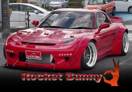 TRA京都ROCKET BUNNYワイドボディ仕上げ!パワーFC制御!ブレーキバランサー!FD3S型マツダRX-7の中古車を掲載!