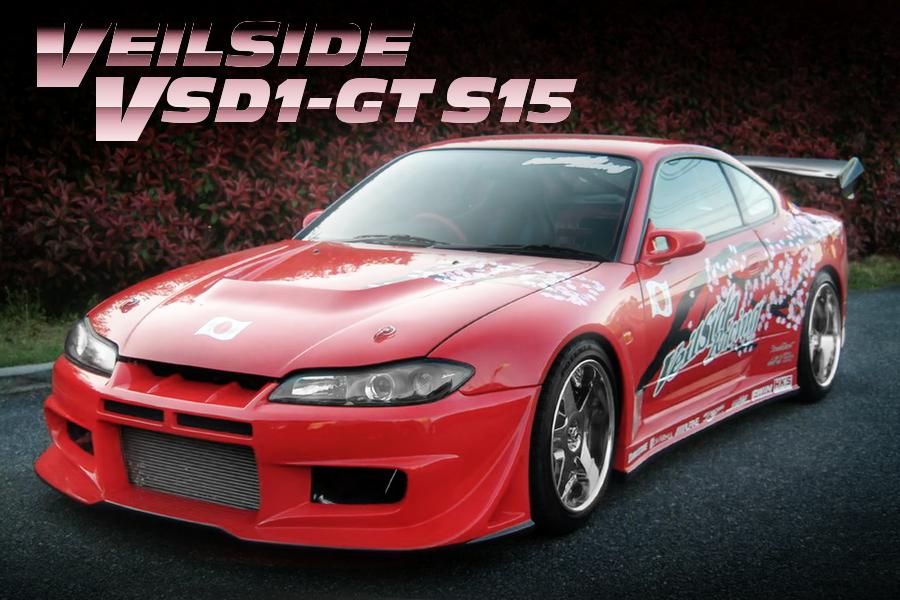 東京オートサロン2004出展!D1GP参戦予定マシン!ヴェイルサイドVSD1-GT S15(シルビア)の中古車物件を掲載!