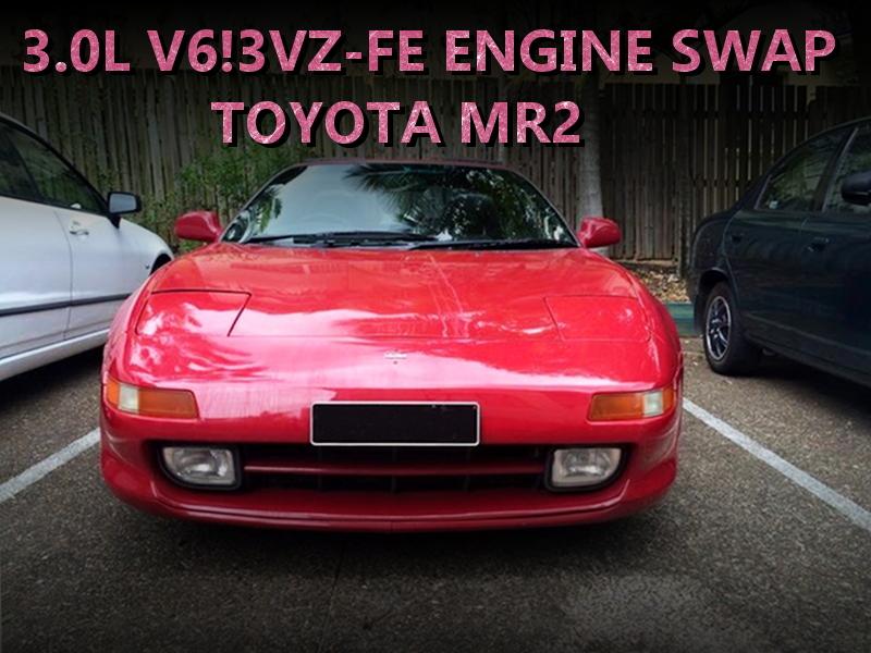 3リッターV6モデル3VZ-FEエンジンスワップ!マニュアルシフト!SW20系トヨタMR2のオーストラリア中古車を掲載!