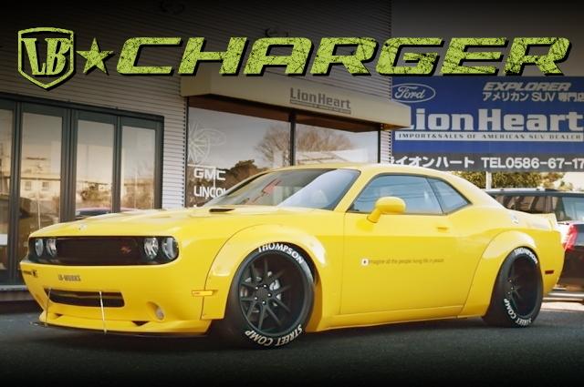 LB-WORKSオーバーフェンダーワイド!エアサス搭載!3代目ダッジ・チャレンジャーR/Tの中古車を掲載!