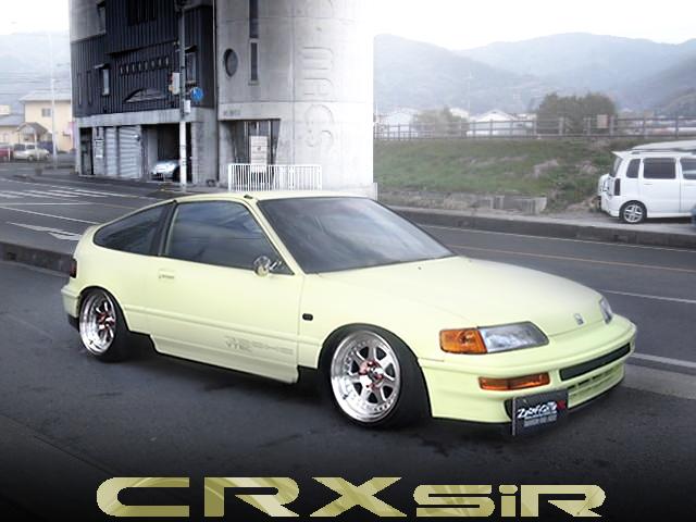 スタンス仕上げ!フルストレートエキゾースト!EF8型ホンダCR-X・SiRの中古車を掲載!