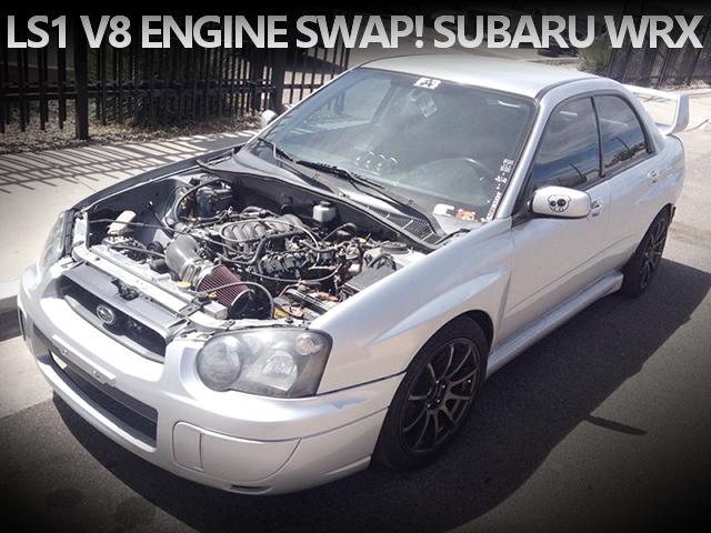 LS1型V8エンジンスワップ!NX社NOSシステムを搭載したGD系スバルWRXのアメリカ中古車(2014年頃)を掲載!