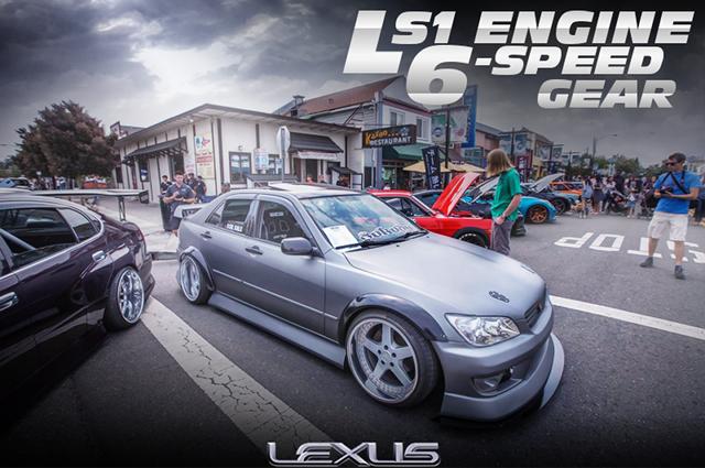 5.7リッターV8!LS1エンジンT56型6速マニュアル移植!オーバーフェンダーワイド!レクサスIS300のアメリカ中古車を掲載!