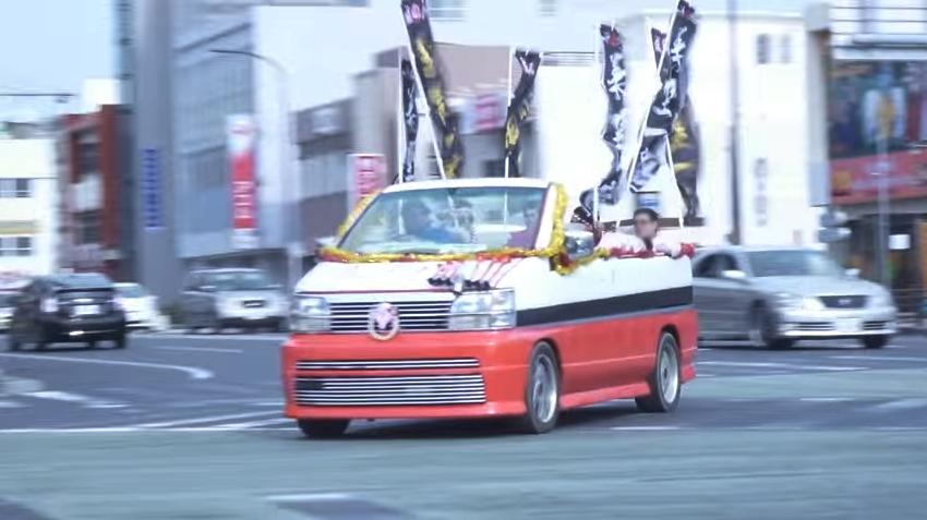 OKINAWA NO OWARI!?沖縄成人式2016!屋根切りマシン特集動画!