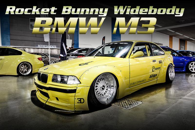 ロケットバニーワイドボディ!スーパーチャージャー装着!AirREXエアサス!E36型BMW・M3クーペのアメリカ中古車を掲載。