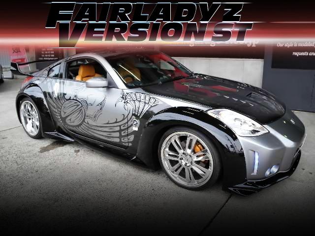 映画ワイルドスピードTOKYO DRIFT登場350Zレプリカ仕上げ!Z33フェアレディZバージョンSTの中古車を掲載!