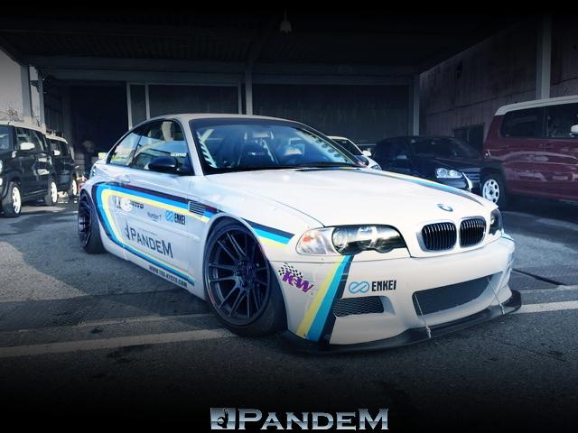 東京オートサロン2016出展!TRA京都PANDEMワイドボディ!PANDEMデモカー!E46型BMW・M3の中古車を掲載!