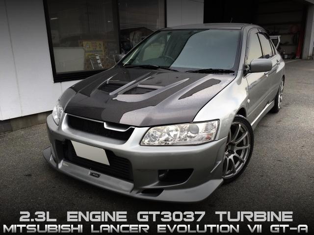 4G63改2.3LエンジンGT3037タービンVプロ制御!強化AT!CT9Aランエボ7GT-Aの中古車を掲載!
