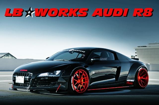 LB-WORKSオーバーフェンダーワイドボディ!4.2リッターV8ベース!アウディR8のアメリカ中古車を掲載!