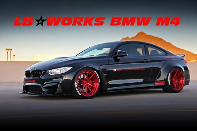 LB-WORKSワイドボディ!ECUチューニング500馬力仕上げ!初代F82型BMW M4のアメリカ中古車を掲載!