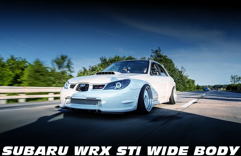 3586Rフルタービン!ワイドボディ仕上げ!GDB系スバルWRX・STIのアメリカ中古車を掲載!