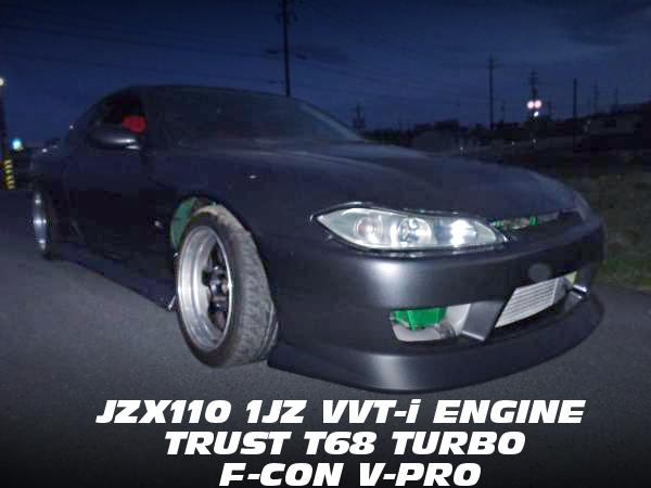 JZX110用1JZエンジン改T67タービンVプロ3.3制御!R35GTRガンメタオールペン!S15日産シルビアの中古車を掲載!