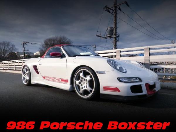 改造費450万円!997ポルシェ911顔面移植!GT3RSワイドボディ仕上げ!986ポルシェボクスターの中古車を掲載!