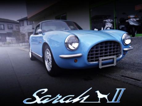 EA11R型カプチーノベース!生産台数5台!Sarah D(サラディ)の希少中古車を掲載!