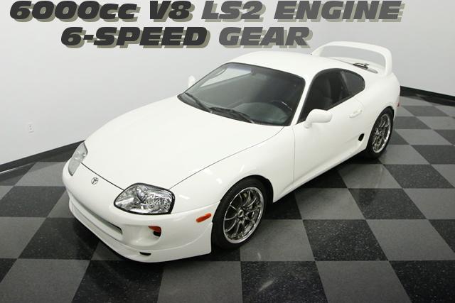 ポンティアックGTO用6リッターV8型LS2エンジン6速マニュアルミッション移植!JZA80スープラのアメリカ中古車を掲載!