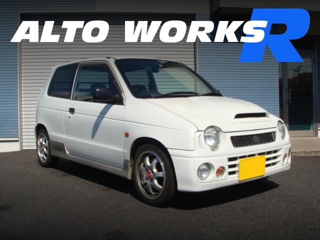 整備費用180万円!競技用受注生産モデル!HB21S希少スズキ・アルトワークスRの中古車を掲載!