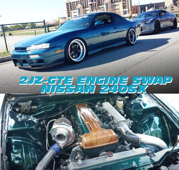 2JZ-GTEエンジン改シングルビッグタービン仕上げ!後期S14日産240SXのアメリカ中古車を掲載!