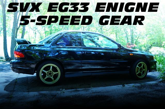 SVX用EG33エンジン・EGハーネス・ECU移植!プロドライブキャリパー!GC8インプレッサ2.5RSのアメリカ中古車を掲載!