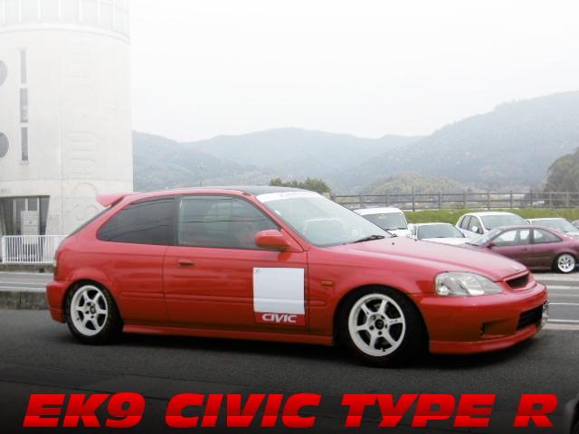 環状スペック!ストレートエキゾースト!EK9シビック・タイプRの中古車を掲載!