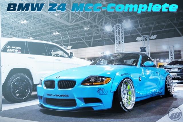 東京オートサロン2016出展!LBワークスワイドボディ!BMW Z4ロードスター2.5iの中古車を掲載!