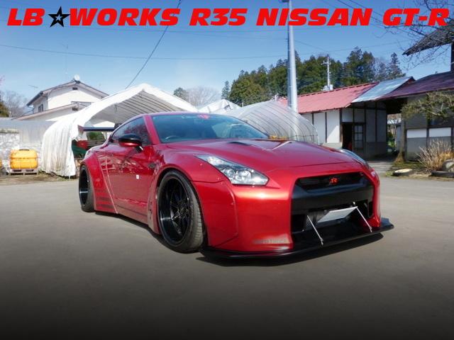 LB-WORKSワイドボディGTウイングVER!ロベルタキット!R35日産GT-Rの国内中古車を掲載!