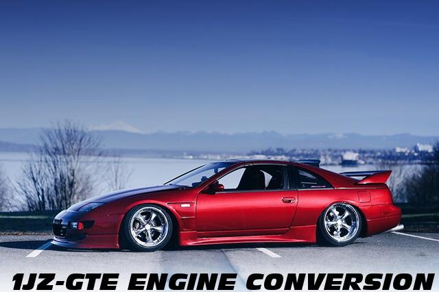 シャコタン仕上げ!1JZエンジン移植シングルビッグタービン!Z32日産300ZX(フェアレディZ)のアメリカ中古車を掲載!