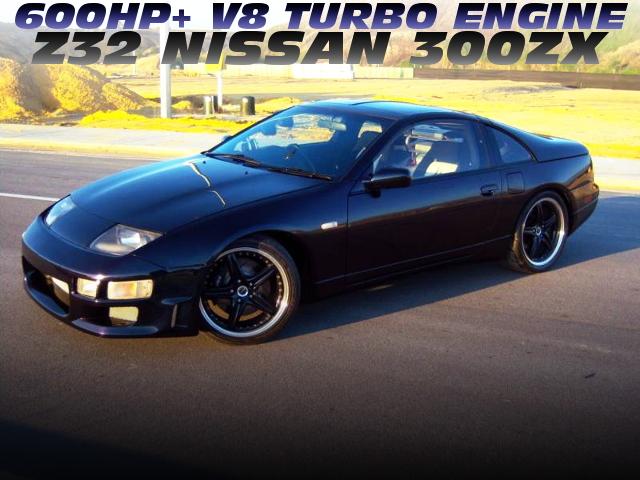 600馬力以上!L98スモールブロックGT35タービン!V8ターボ仕上げ!Z32日産300ZXのオーストラリア中古車を掲載!