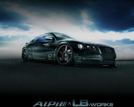 東京オートサロン2016/大阪オートメッセ2016出展!Alpil&LB-worksコラボ!ALPILデモカー!アウディS5の中古車を掲載