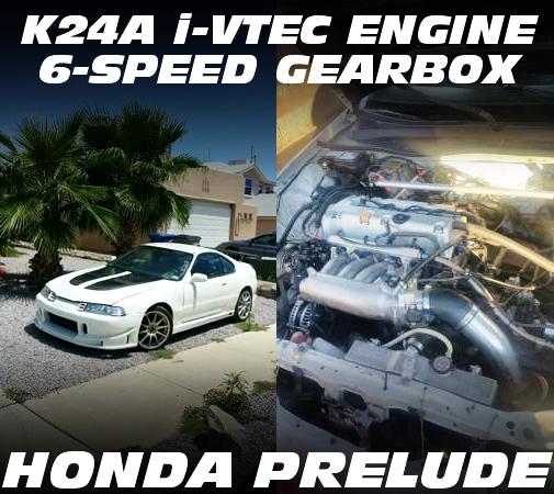 K24A型i-VTECエンジン6速マニュアル仕上げ!4代目プレリュードSiのアメリカ中古車を掲載!