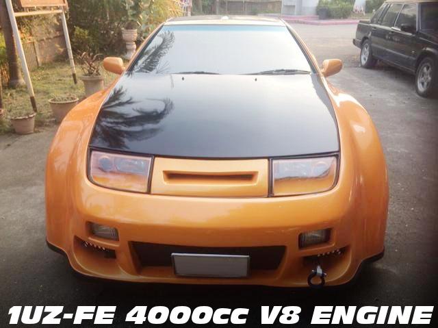 セルシオ用4000cc V8型1UZ-FEエンジン移植!ワイドボディ仕上げ!Z32日産フェアレディZ・300ZXのタイ中古車を掲載!