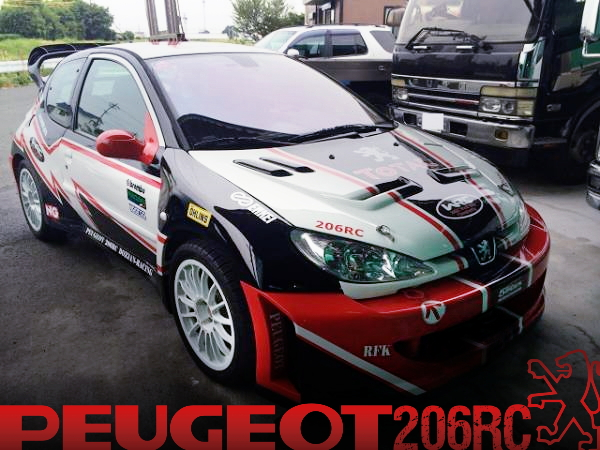 WRCワイドボディ仕上げ公認!前後ワンオフバンパー!プジョー206RCの国内中古車を掲載