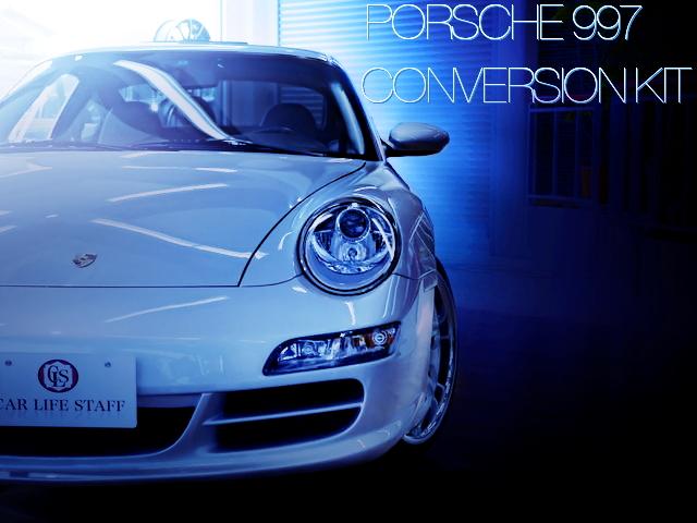 スピードジャパン製997型ポルシェ911フェイスキット仕上げ!996型ポルシェ911カレラの国内中古車を掲載