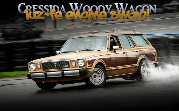 レクサス用4000cc V8型1UZエンジン移植5速MT仕上げ!ドリフト仕様!初代クレシーダワゴンのアメリカ中古車を掲載!