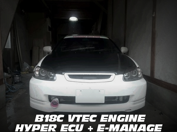 B18C型VTECエンジン搭載!ハイパーECU+eマネージ制御仕上げ!EK9シビック・タイプRの中古車を紹介!