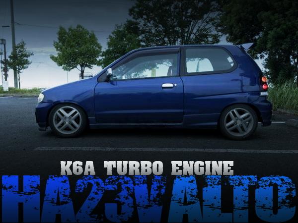 K6Aツインカムターボエンジン5速MT仕上げ!HA23V型スズキ・アルトバンの国内中古車を掲載