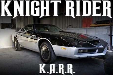ナイトライダーK.A.R.R.(カール)仕上げ!3代目ポンテアック・トランザムGTAの国内中古車を掲載