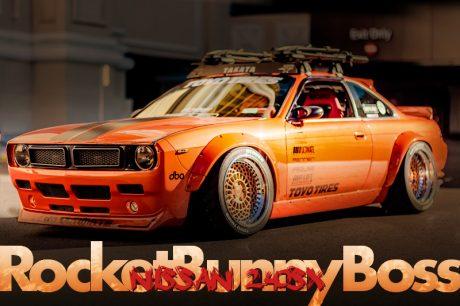 TRA京都ロケットバニーBOSSキット装着!SEMAショー出展!S14日産240SXのアメリカ中古車を掲載