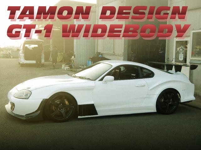 TAMONデザインGT-1ワイドボディ!シングルビッグタービン金プロ制御!JZA80スープラRZの国内中古車を掲載