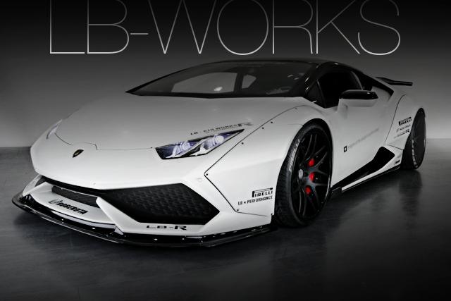 LB-WORKSワイドボディ!パワークラフトエキゾースト!ランボルギーニ・ウラカンLP610-4の国内中古車を掲載
