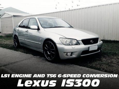 LS1エンジン移植!T56型6速MT換装!初代レクサスIS300のオーストラリア中古車を掲載!