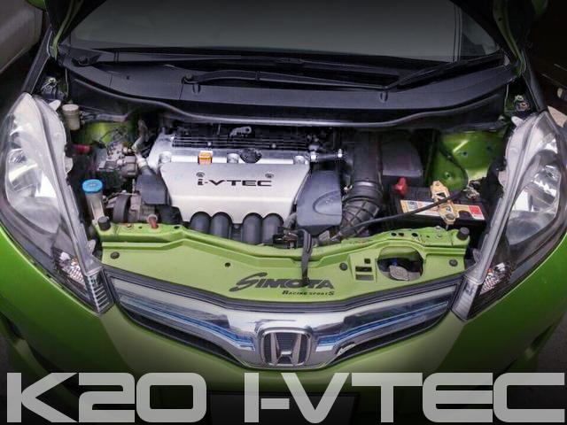 K20系i-VTECエンジンスワップ!GE系ホンダ・ジャズ(2代目フィット)のタイ中古車を掲載